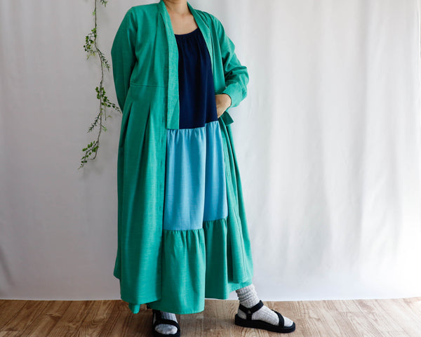 <RS20D20MV>  LONG SHIRT DRESS