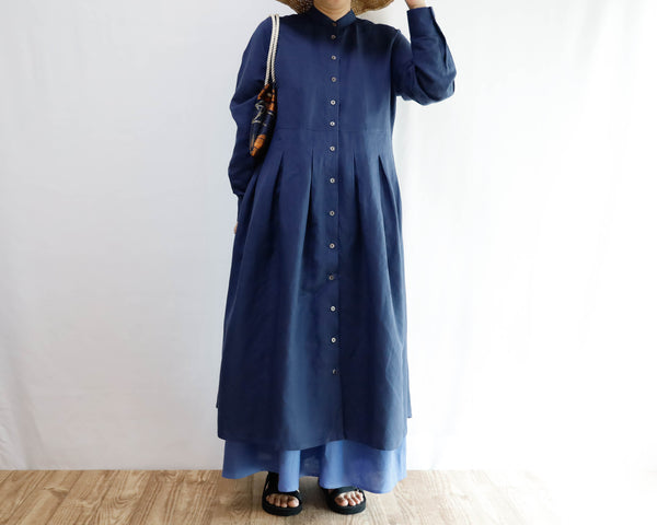<S20-009>  LONG SHIRT DRESS