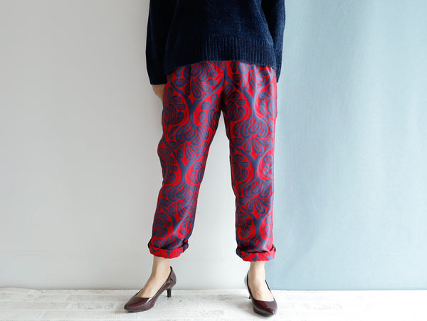 <RS20P12C> COVENT GARDEN  -Relax Tapered Pants