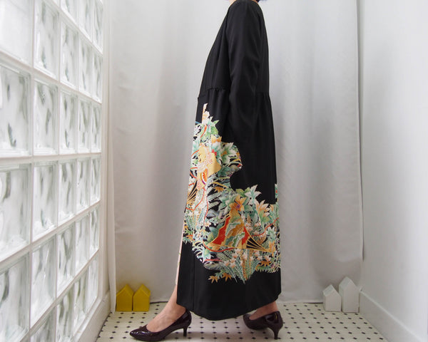 <RS19D14-004> KIMONO WRAPED Dress'n Coat
