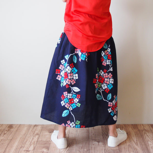 <RS17S15-009> OKINAWA Skirt Long