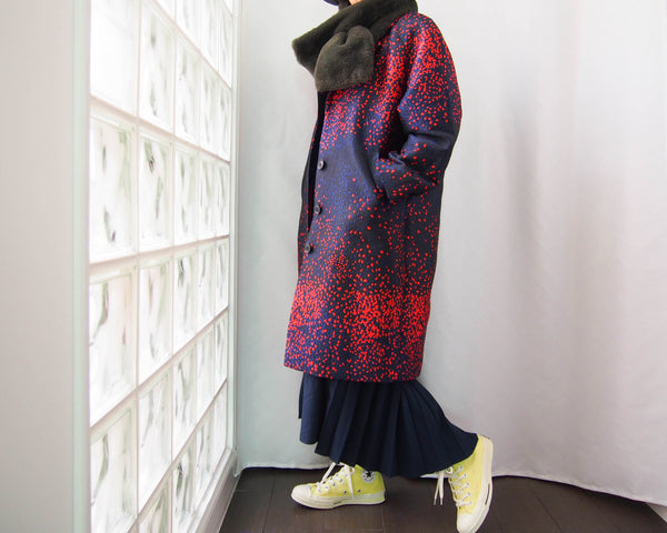 MADE TO ORDER <RS19J12H>  OVERSIZED COAT