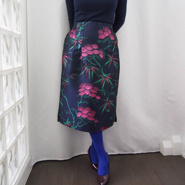 <RS19S24-000> KABUKI Semi tight skirt
