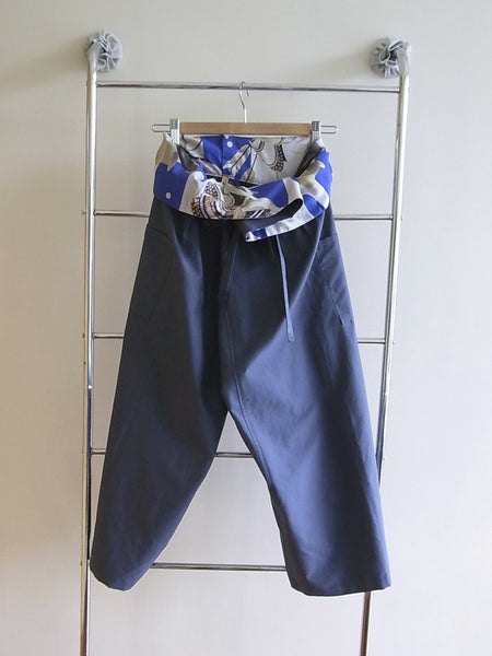 <RS10P03-002> OKOSHI TROUSERS -BLUE
