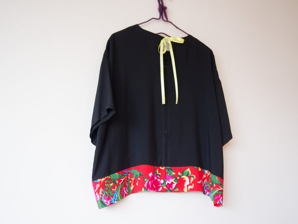 <RS14T01-022>  KIMONO Top AUDREY  -S to M- Hong Kong Special