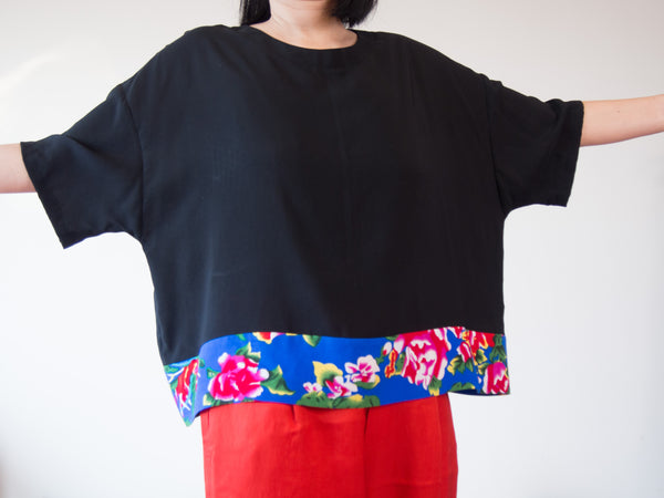 <RS14T01-023>  KIMONO Top AUDREY  -S to M- Hong Kong Special