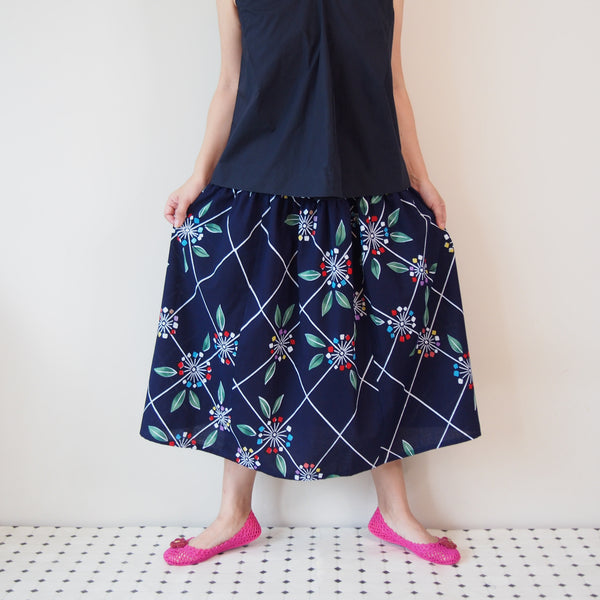 <RS17S15-017> OKINAWA Skirt Long