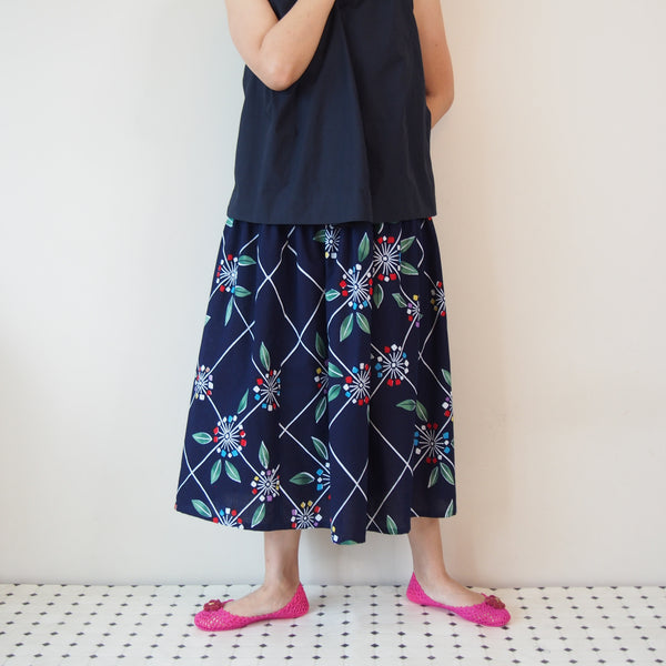 MADE TO ORDER <RS17S15-017> OKINAWA Skirt Long