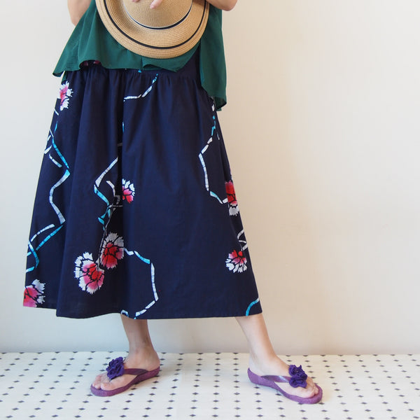 MADE TO ORDER <RS17S15-MTO> OKINAWA Skirt Long