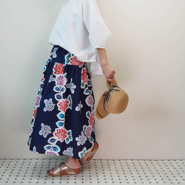 <RS17S15-027> OKINAWA Skirt Long