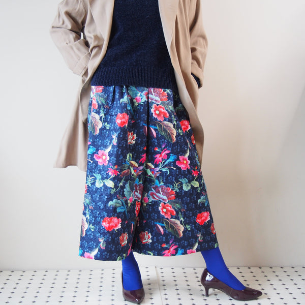 <RS18P06-003>CRAZY PRINT trousers