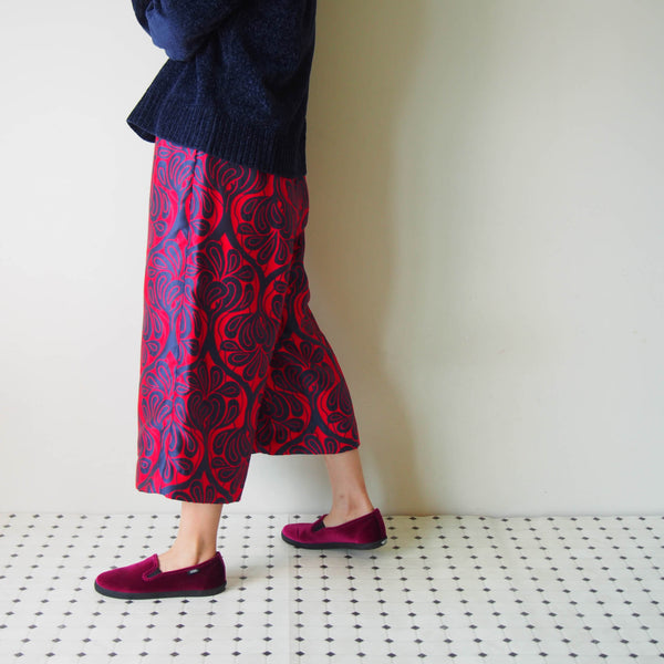 MADE TO ORDER <RS18P06-MTO>  GAUCHO trousers