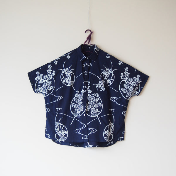 <RS18T10-001> OKINAWA Oversized Shirt