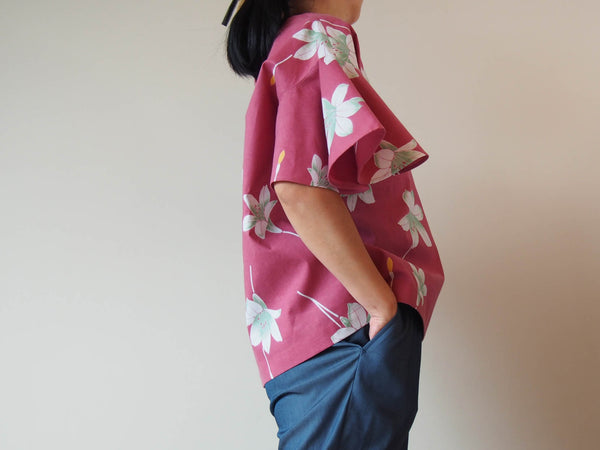 <RS18T12-006> OKINAWA Top Bell shaped Sleeves