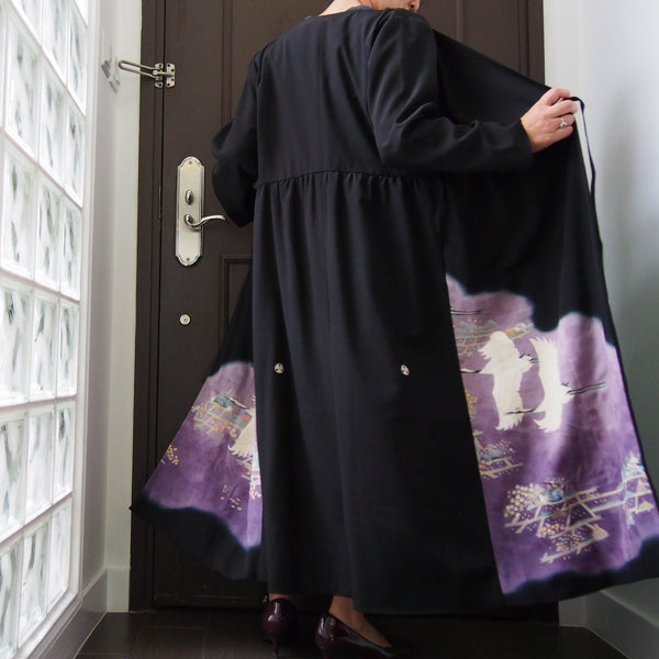 <RS19D14-002> KIMONO WRAPED Dress'n Coat