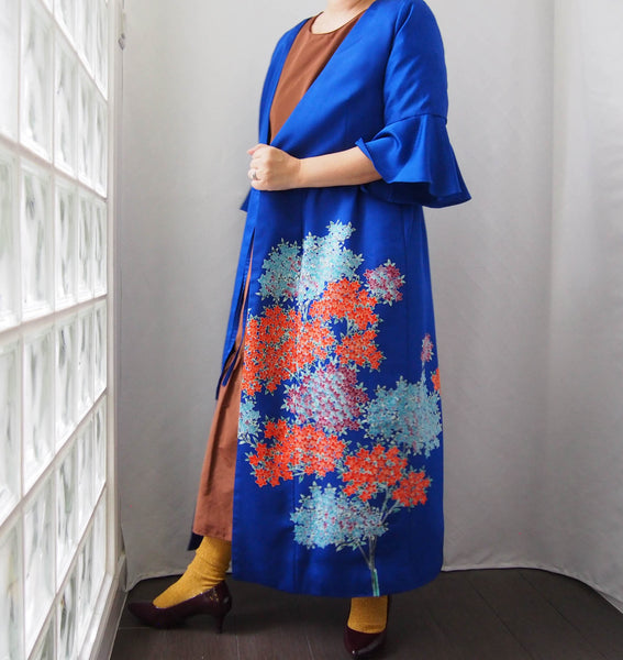 <RS19D16-002> KIMONO WRAPED Dress'n Coat