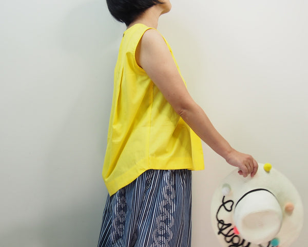 <RS19T15-001>OKINAWA  Top YELLOW