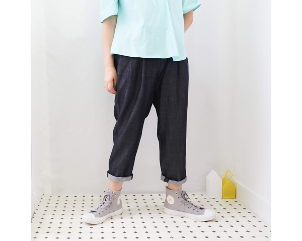 <RS20P10D>  Soft Denim -Tapered Pants