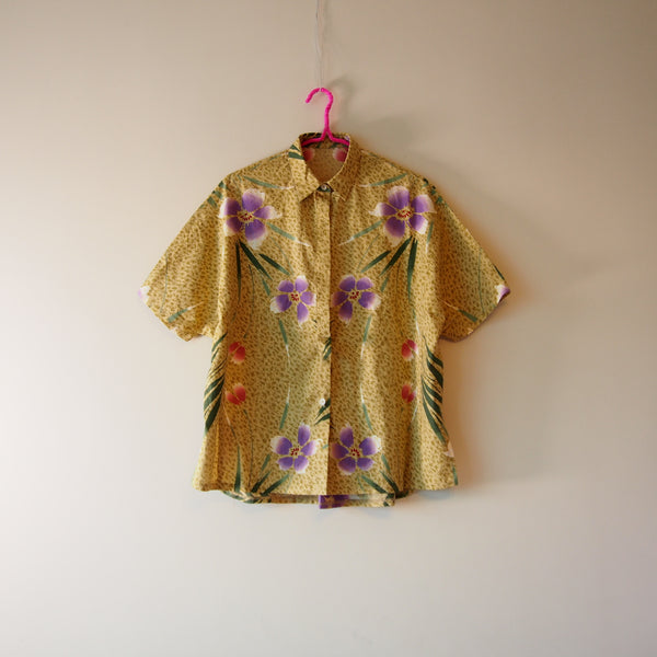<RS18T10-006> OKINAWA Oversized Shirt