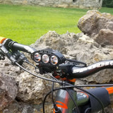 2018 MTS Theia 3000 Lumen Wireless LED Mountain Bike Light Kit