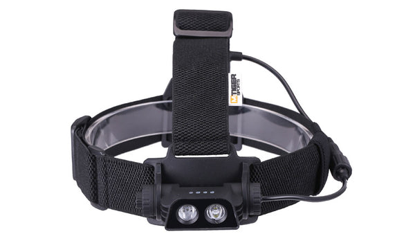 M-Tiger X10 USB Rechargeable 700 Lumen LED Headlamp
