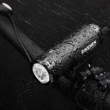ravemen cr300 300 lumen led bike light in the rain
