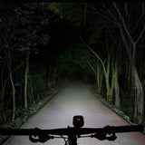 Ravemen PR1200 Bicycle light beam shot high