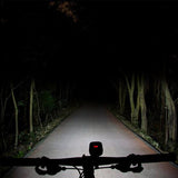 Ravemen PR1200 Bicycle light beam shot low