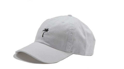 ASP Lids Palm Tree White