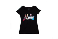 Aloha Script Waikiki Fill for Women
