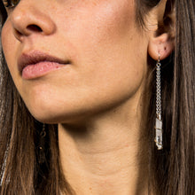 Load image into Gallery viewer, Quartz Earrings