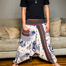 Load image into Gallery viewer, Koi Print Harem Pants