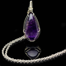 Load image into Gallery viewer, Amethyst Pendant: Protection