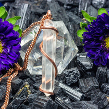 Load image into Gallery viewer, Manifestation: Quartz Necklace