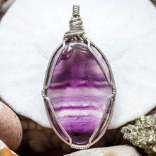 Load image into Gallery viewer, Fluorite Pendant