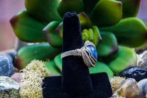 Size 6.5 Blue Sodalite Ring