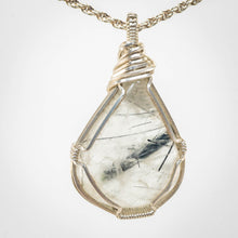 Load image into Gallery viewer, Tourmalinated Quartz Pendant