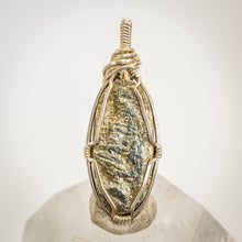 Load image into Gallery viewer, Pyrite and Sterling Pendant