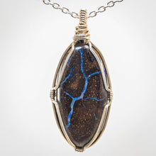 Load image into Gallery viewer, Boulder Opal Pendant