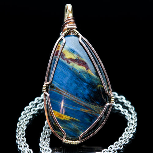 Sphere of Color: Pietersite Necklace