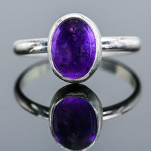 Load image into Gallery viewer, Hope : Amethyst and Sterling Silver Ring