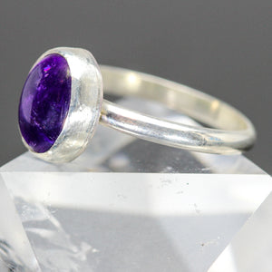 Hope : Amethyst and Sterling Silver Ring