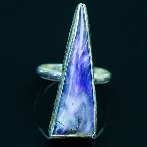 Magic: Charoite  Ring-Size 5.5