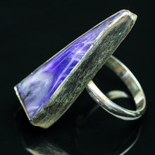Load image into Gallery viewer, Magic: Charoite  Ring-Size 5.5