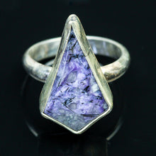 Load image into Gallery viewer, Charoite Ring- Size 6