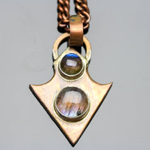 Load image into Gallery viewer, Transcend: Labradorite Pendant