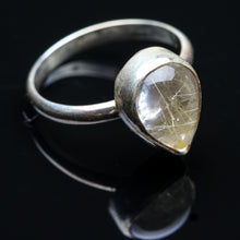 Load image into Gallery viewer, Rutilated Quartz  Ring- Size 4.5