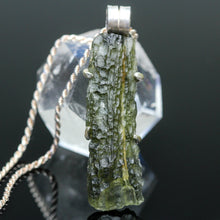 Load image into Gallery viewer, Moldavite Pendant
