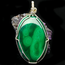 Load image into Gallery viewer, Gratitude: Malachite Pendant