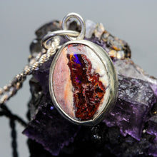 Load image into Gallery viewer, Depth: Fire Opal Necklace